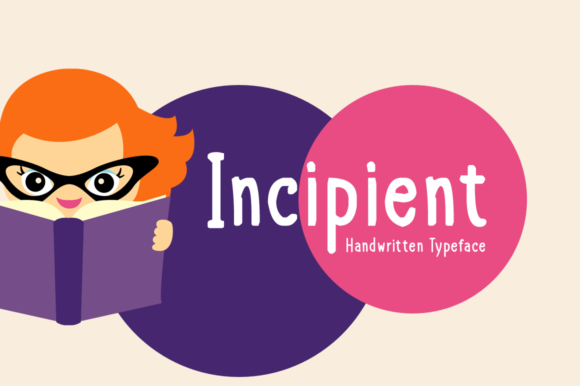 Incipient Display Font By Imposing Fonts