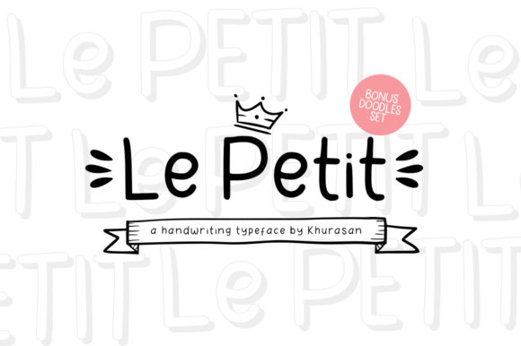 Print on Demand: Le Petit Display Font By Khurasan