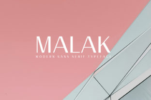 Malak Font By Creative Tacos