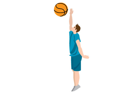Download Free Male Basketball Layup Svg Cut File By Creative Fabrica Crafts for Cricut Explore, Silhouette and other cutting machines.