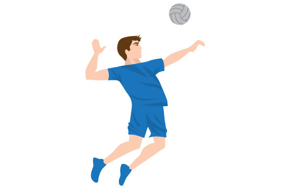 Download Free Male Volleyball Spike Svg Cut File By Creative Fabrica Crafts for Cricut Explore, Silhouette and other cutting machines.