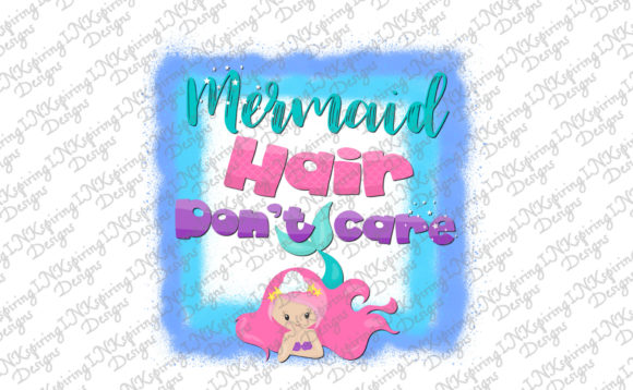 Download Free Mermaid Hair Graphic By Inkspiring Designs Creative Fabrica for Cricut Explore, Silhouette and other cutting machines.
