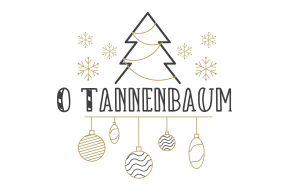 O Tannenbaum Germany Craft Cut File By Creative Fabrica Crafts