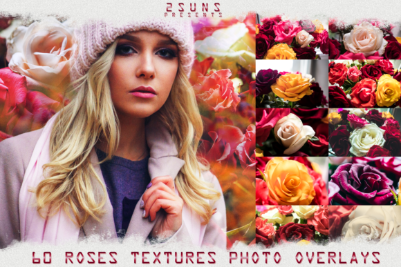Red Rose Petals Textures Background Graphic Layer Styles By 2SUNSoverlays