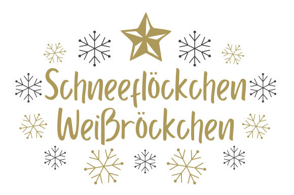 Download Free Schneeflockchen Weissrockchen Svg Cut File By Creative Fabrica for Cricut Explore, Silhouette and other cutting machines.