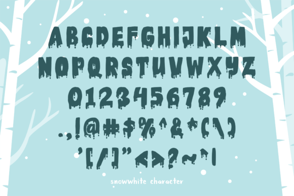 Download Free Snow White Font By Geadesign Creative Fabrica for Cricut Explore, Silhouette and other cutting machines.