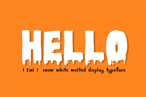 Snow White Font By geadesign Image 9