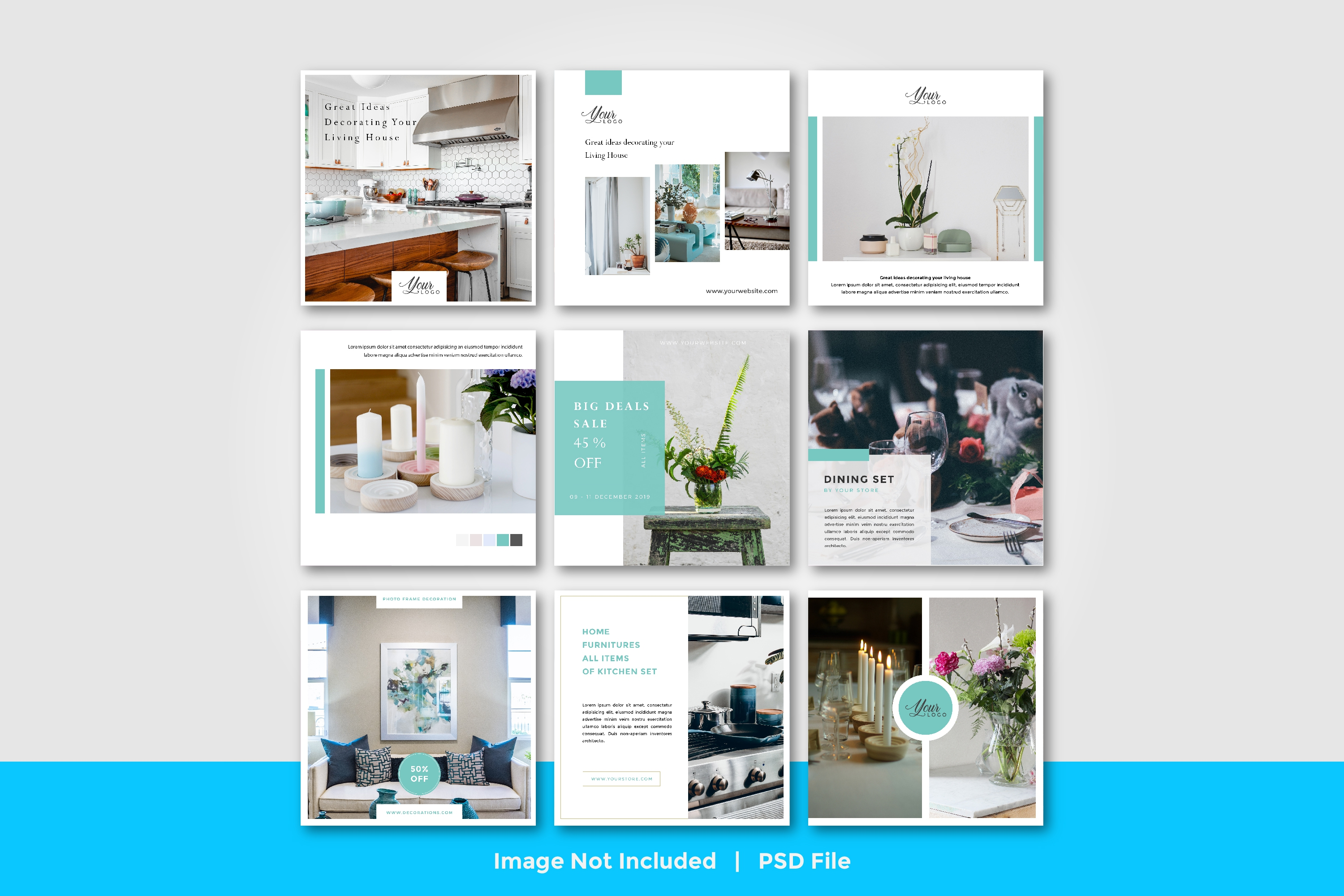 Download Free Social Media Furniture Template Vol 4 Graphic By Suedanstock for Cricut Explore, Silhouette and other cutting machines.
