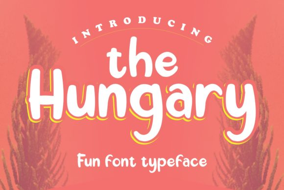 Print on Demand: The Hungary Display Schriftarten von Skiiller Studio