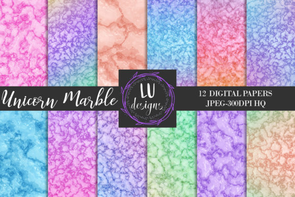 Download Free Watercolor Gold Unicorn Backgrounds Graphic By Lu Designs SVG Cut Files
