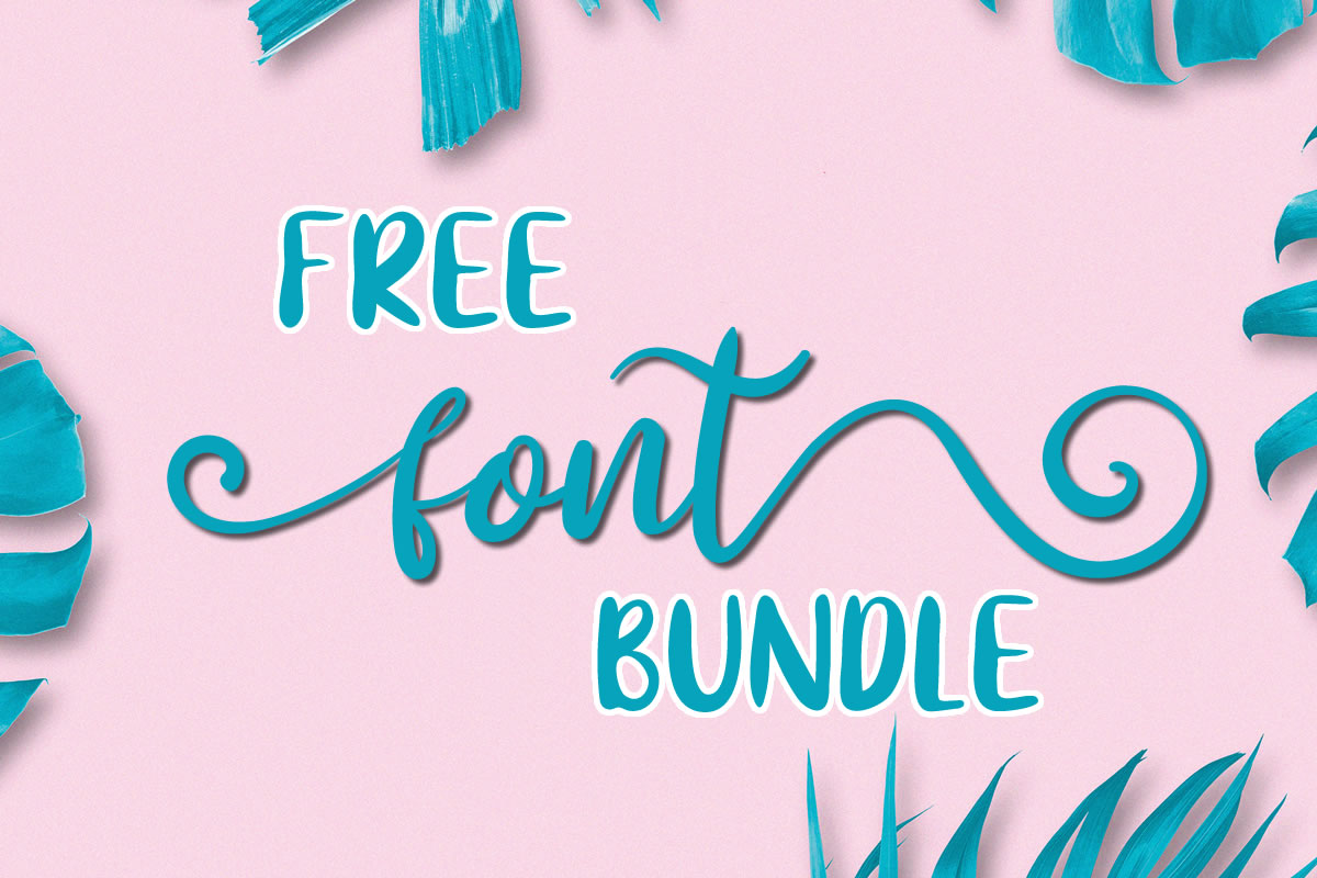 Download Free Free Font Bundle Bundle Creative Fabrica for Cricut Explore, Silhouette and other cutting machines.