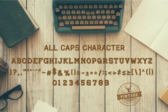 Print on Demand: Rockhead Display Font By Typestory - Image 4