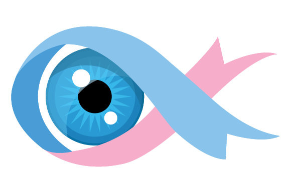Download Free Blue Eye With Infant Loss Awarness Ribbon Svg Cut File By SVG Cut Files
