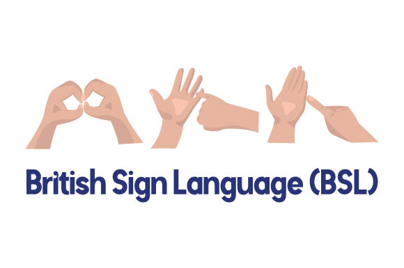 Download Free British Sign Language Bsl Svg Cut File By Creative Fabrica for Cricut Explore, Silhouette and other cutting machines.