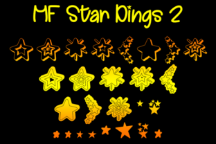 MF Star Dings 2 Font By Misti
