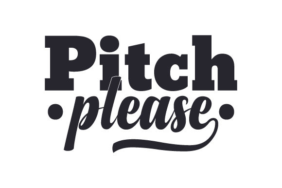 Pitch Please Sports Craft Cut File By Creative Fabrica Crafts - Image 1