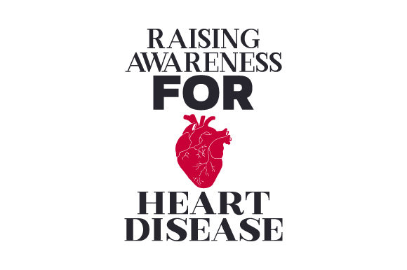Raising Awareness for Heart Disease Craft Design By Creative Fabrica Crafts