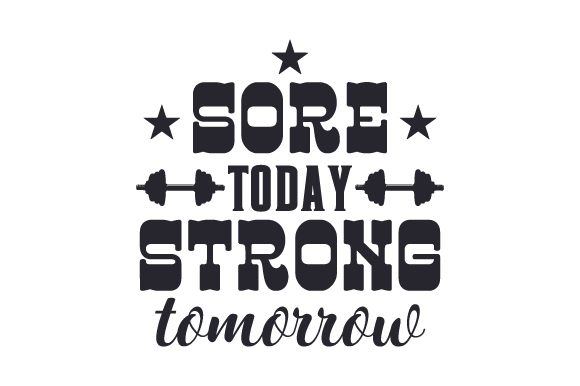Download Free Sore Today Strong Tomorrow Svg Cut File By Creative Fabrica for Cricut Explore, Silhouette and other cutting machines.