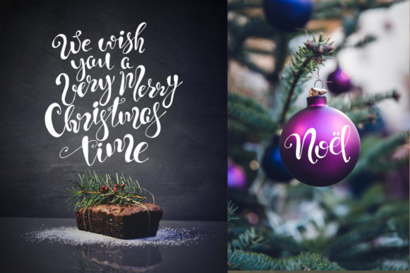 Christmas Quotes Hand Deawing Lettering Graphic Crafts By EvgeniiasArt - Image 8