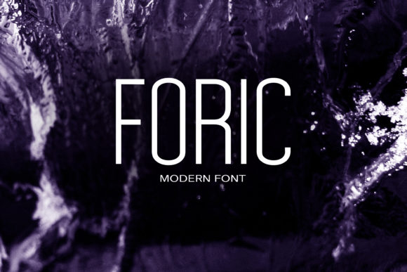 Print on Demand: Foric Sans Serif Font By maxim.90.ivanov