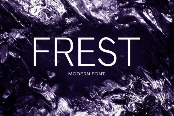 Print on Demand: Frest Sans Serif Font By maxim.90.ivanov