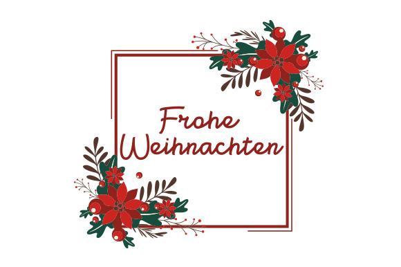 Download Free Frohe Weihnachten Svg Cut File By Creative Fabrica Crafts for Cricut Explore, Silhouette and other cutting machines.