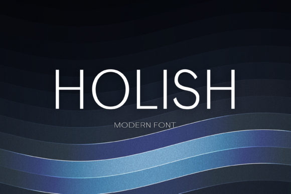 Print on Demand: Holish Sans Serif Font By maxim.90.ivanov