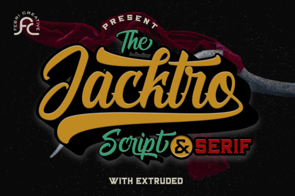 Print on Demand: Jacktro Script & Handwritten Font By Febri Creative