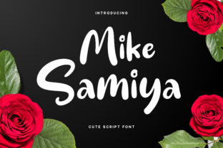 Mike Samiya Font By RezaDesign