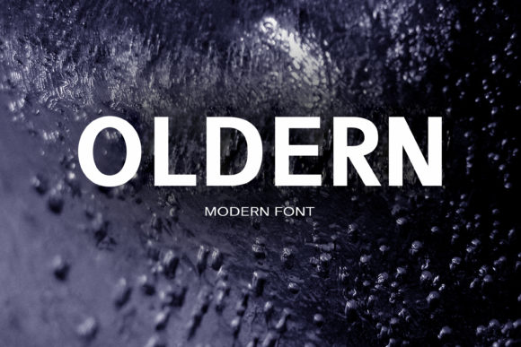 Print on Demand: Oldern Sans Serif Font By maxim.90.ivanov