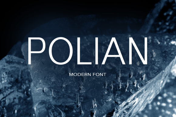 Print on Demand: Polian Sans Serif Font By maxim.90.ivanov