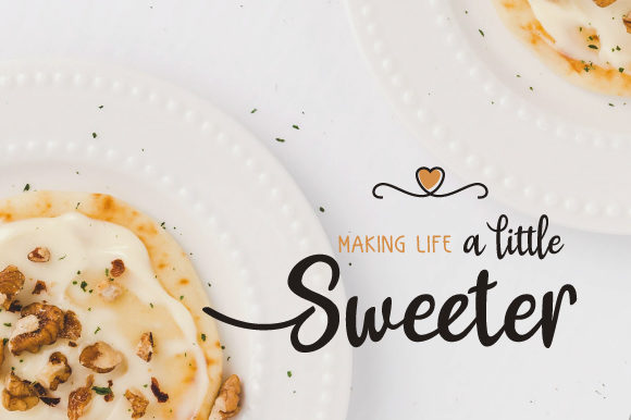 Print on Demand: Sweet Cake Script & Handwritten Font By VNM Creative Studio - Image 2