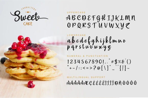 Print on Demand: Sweet Cake Script & Handwritten Font By VNM Creative Studio - Image 6
