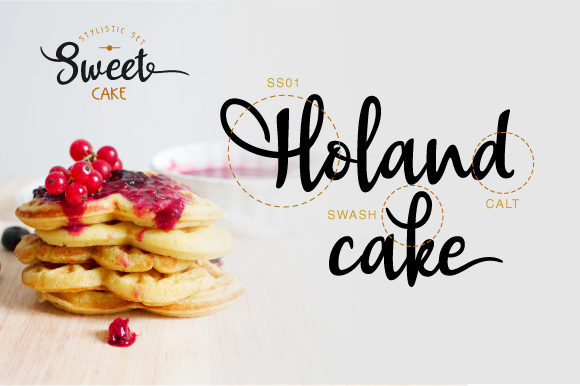 Print on Demand: Sweet Cake Script & Handwritten Font By VNM Creative Studio - Image 7