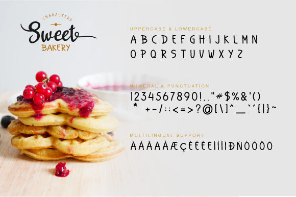 Print on Demand: Sweet Cake Script & Handwritten Font By VNM Creative Studio - Image 8