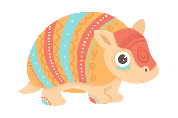 Armadillo Mexico Craft Cut File By Creative Fabrica Crafts