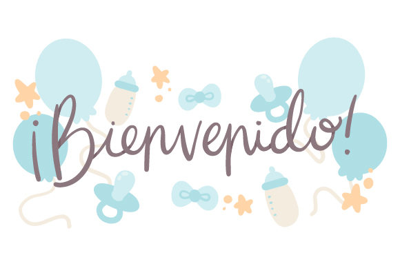 Download Free Bienvenido Svg Cut File By Creative Fabrica Crafts Creative for Cricut Explore, Silhouette and other cutting machines.