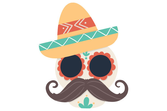 Download Free Calavera Con Sombrero Svg Cut File By Creative Fabrica Crafts for Cricut Explore, Silhouette and other cutting machines.