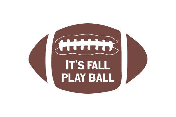 It's Fall, Play Ball Sports Craft Cut File By Creative Fabrica Crafts - Image 1