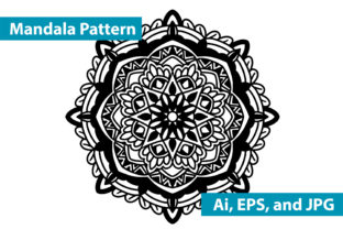 Mandala Vector Art Pattern Graphic By mozazainul