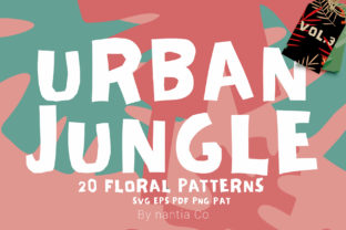 Seamless Patterns 20 X Urban Jungle V3 Graphic By nantia