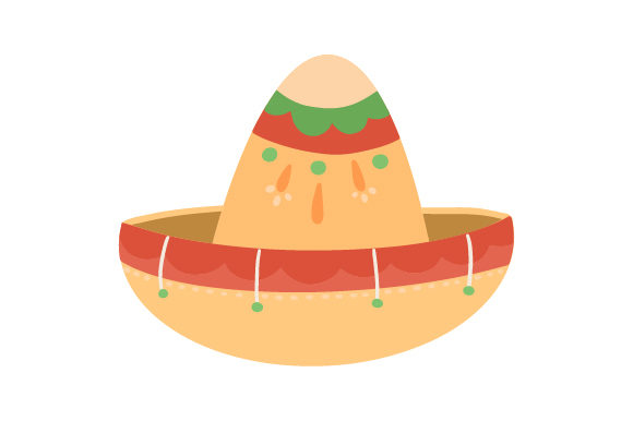 Download Free Mexican Hat Svg Cut File By Creative Fabrica Crafts Creative for Cricut Explore, Silhouette and other cutting machines.