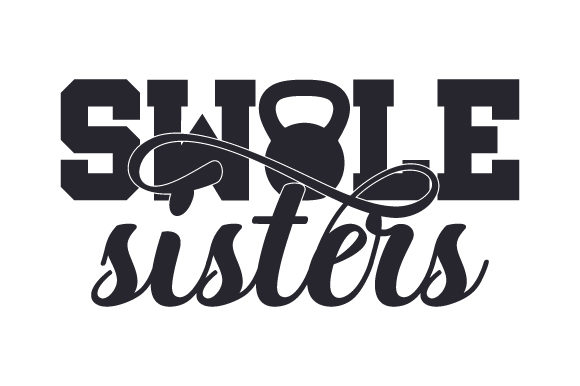 Download Free Swole Sisters Svg Cut File By Creative Fabrica Crafts Creative for Cricut Explore, Silhouette and other cutting machines.