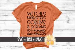 Witches Monsters Goblins Screams Graphic By CheeseToastDigitals