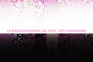 16 Pink Square Patterns Graphic By davidzydd