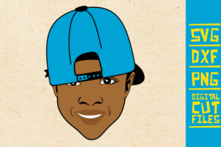 Download Free Afro Boy With Cap Svg Black Boy Graphic By Svgyeahyouknowme for Cricut Explore, Silhouette and other cutting machines.