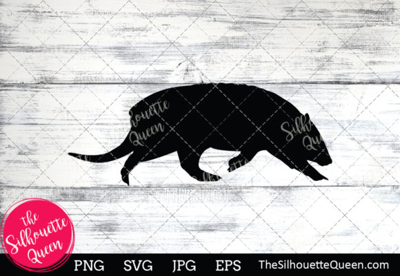Download Free Armadillo Silhouette Graphic By Thesilhouettequeenshop for Cricut Explore, Silhouette and other cutting machines.