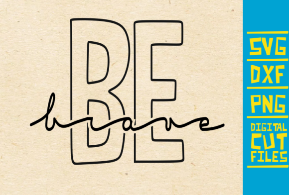 Be Brave Graffiti Black Woman Graphic By Svgyeahyouknowme