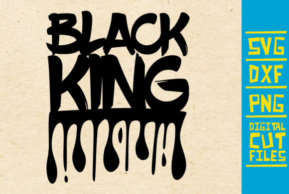 Black King Black Woman Dripping Graphic By Svgyeahyouknowme