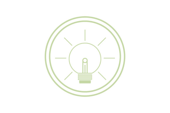 Download Free Bright Light Lamp Icon Graphic By Yuhana Purwanti Creative Fabrica for Cricut Explore, Silhouette and other cutting machines.